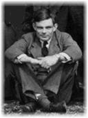Fotografia de Alan Turing