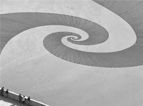 Espiral en la arena por Jim Denevan