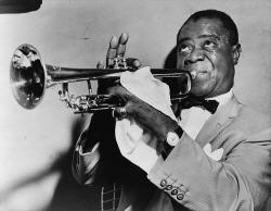 Louis Armstrong, Crédito: New York World-Telegram
