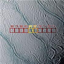 Rayas de Tigre en Encélado