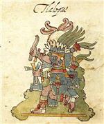 Tláloc, dios azteca de la lluvia