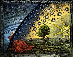 Representación de la visión aristotélica del Universo